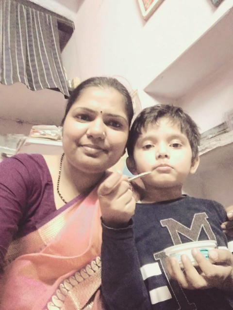 IAS Pushplata Family and Husband