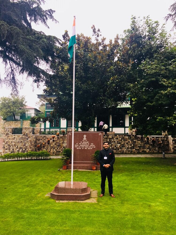 Deshal Dan Ratnu IAS Biography